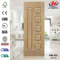 Unequal Leaf Red Oak Veneer Wood Door Skin