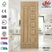 Unequal Leaf Red Oak Veneer Wood Door Skin