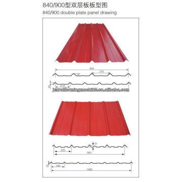 840/900 Máquina de fabricación de baldosas de doble capa