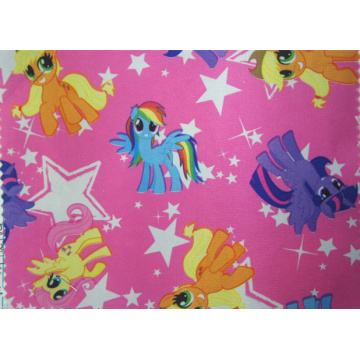 420d Cartoon Polyester Fabric with PU Coating