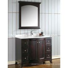 Vaidade do banheiro de madeira Epresso (BA-1108)