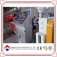 PE Single Wall Corrugated Pipe Extruder Machine Line