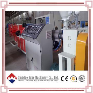 PE Single Wall Corrugated Pipe Extruder Machine Line