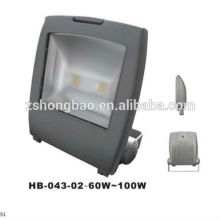 2014 patent bridge lux chips aluminum alloy 3years warranty CE ROHS 60w to100w led flood light
