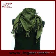 Дешевые мужской военный камуфляж рыбы чистая сетка армии полиэстер шарф