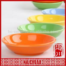 Cerâmica oval manga amarela assar ware com tampa de silicone Lunch box locker bowl Tigela de macarrão japonês