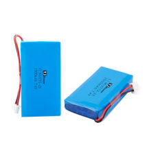 7.4V 2500mAh Lithium ion polymer battery pack, 803772-2S, 16*37*72mm size, 168g