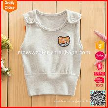 La última manera del diseño personalizó los sistemas del suéter del knit del bebé