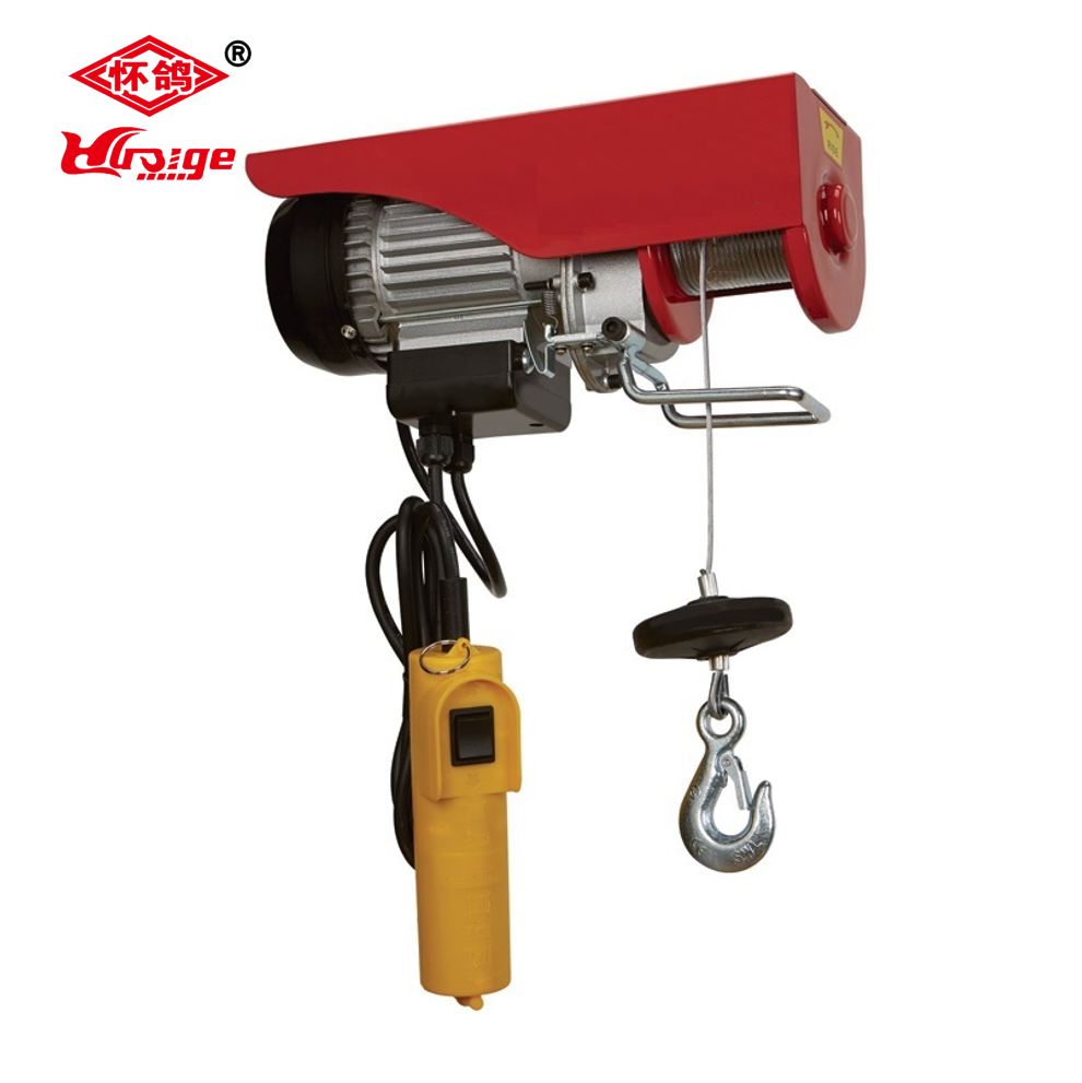 Pa Mini Electric Wire Rope Hoist 4