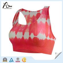 Sublimación personalizada de las mujeres Sports Bra Fitness Wear