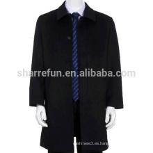 El abrigo 100% de la cachemira de los nuevos hombres frescos chinos de la moda 2015 con precio de fábrica