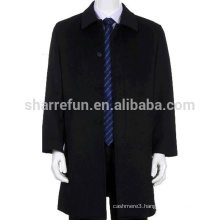2015 Chinese New Cool Fashion Men's 100% Cashmere Overcoat With Factory Price