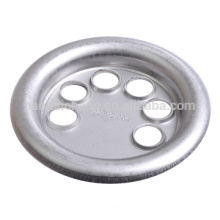 Custom metal stamping stainless steel round flange for Electric heating