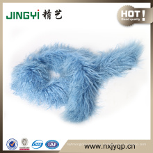 Wholesale Tibetan Mongolian Lamb Fur Leather Scarf