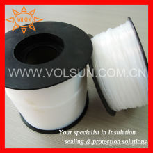 Clear 260 Degrees Resistant AWG22 PTFE Teflon Tubing