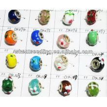 2013 moda jóias de vidro talão jóias LS-143