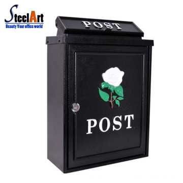Modern design apartment outdoor stainless steel postbox