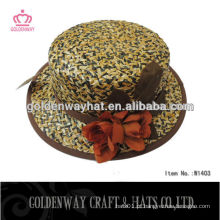 Chapéus de palha de papel grossistas baratos