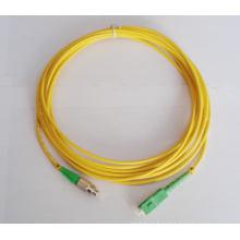SM 0.9mm 2.0mm 3.0mm 3m Fibra Óptica Patch Cord lc apc para fc apc, lc pc Fibra Óptica Patch Cord