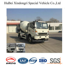 4cbm Sinotruk Man Euro 4 Concrete Cement Delivery Transport Mixer Truck