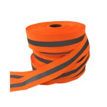 wholesale custom hi vis warning reflective tape for clothing sew on