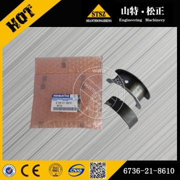 Komatsu genuine parts PC200-7 thrust metal 6736-21-8610
