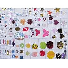 Farbe Confetti und Design Diagramm DSC02296