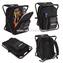 Folding seat with cooler backpack VEC-2006L