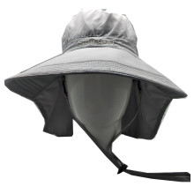 Wide brim custom bucket hat