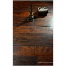 Kommerzieller 12.3mm Hand geschabter Kirsch V-gerillter lamellierter Fußboden