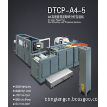 Small A4 Copier Paper Cut Size Sheeting and Wrapping Machine