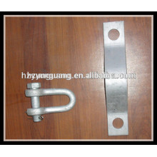 Steel Pole assembly electric utility pole accessories overhead line fitting power transimission line hardware fitting