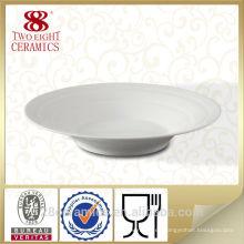 Sistema de porcelana china venta caliente, placas de cena de restaurante al por mayor