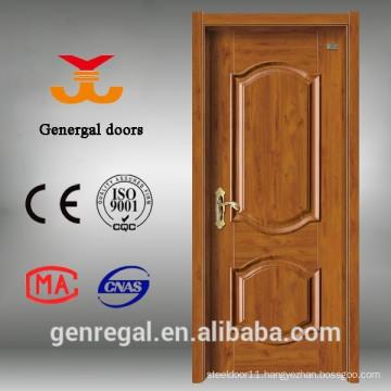 Eco-friendly E1 grain texture melamine wood door