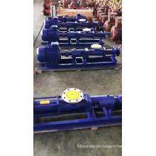 Bomba hidráulica de tornillo de aguas residuales portátil