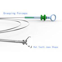 Solo uso cocodrilo forma Foregin cuerpo fórceps Jhy-Fg-A2