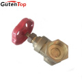 Guten Top DN20 full port iron handlewheel brass gate valve
