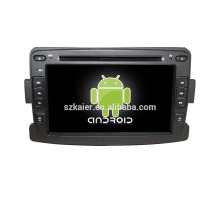 "7 ""auto dvd player, fabrik direkt! Quad core, GPS, radio, bluetooth für renuust duster"