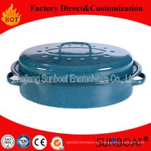 Sunboat Enamel Roaster / Bake Pan, Pot Utensilio de cocina / Aparato de cocina