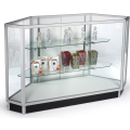 Glass Display Case for Corner Adjustable Shelves