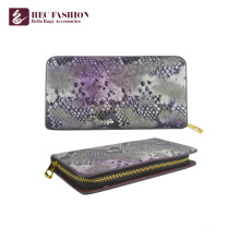 HEC China Factory Fashion Ladies Purse Pu Leather Womens Purse