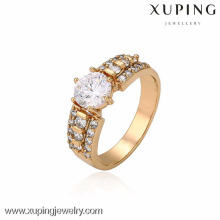 13265- Gros charmes Xuping bijoux Fashion femme 18K Gold -Plated Ring