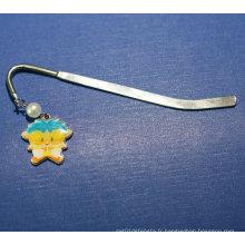 Metal Bookmark Clip Custom Bookmark avec accessoires (GZHY-BM-002)