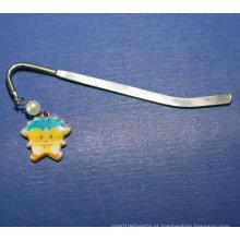 Metal Bookmark Clip Personalizado Marcador com Acessórios (GZHY-BM-002)