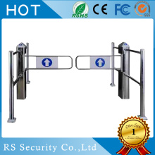 Goods high definition for Supermarket Swing Barrier Gate Pedestrian Gates Turnstile Swing Security Barrier supply to Germany Manufacturer