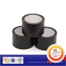 Fita de advertência de cabo de PVC preto / fita de advertência para marcação