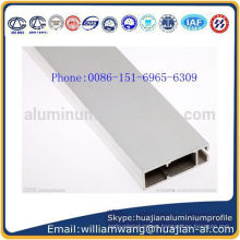2015 Extremly use YS-HB-25 indoor single face sand silver color anodized poster holder aluminum profile for lightbox