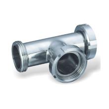 304 / 316L Санитарный тройник с зажимами из нержавеющей стали