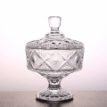 Crystal Glass candy jar sweet glassware bottle teapot