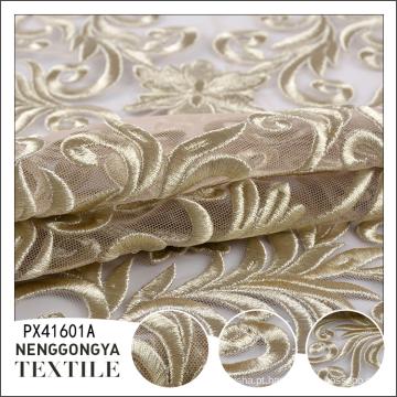 Chegada nova Alta qualidade moda solúvel em água tecido bordado do casamento